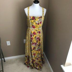NWT Anthropologie maxi dress